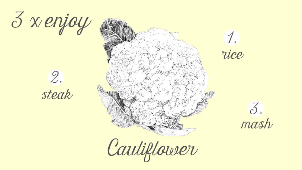 3xveggy.Cauliflower