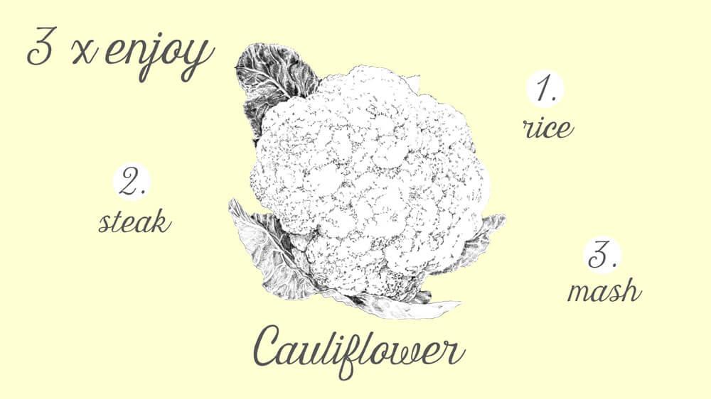 3xveggy.Cauliflower